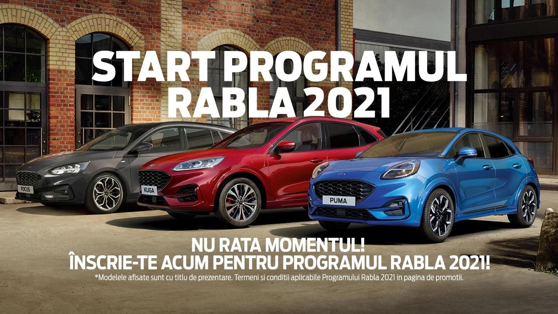 Programul RABLA de la Ford 2021